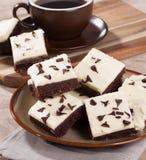 Пирожные Fudge шоколада Стоковое Изображение