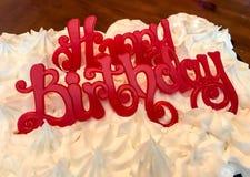 пирожня дня рождения счастливые стоковые изображения rf