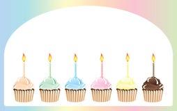 пирожня дня рождения иллюстрация штока
