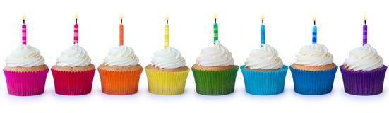 пирожня дня рождения Стоковое Изображение