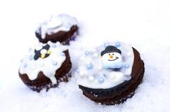 Пирожня зимы Стоковая Фотография