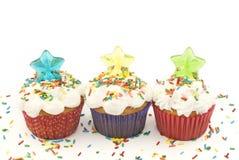 пирожня конфеты party звезды Стоковая Фотография RF
