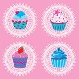 пирожня ретро иллюстрация штока