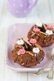 пирожня сладостные Стоковые Изображения RF
