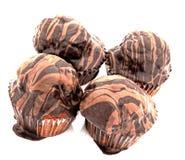 пирожня шоколада вкусные Стоковые Фото