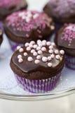 Пирожня шоколада Стоковое Изображение
