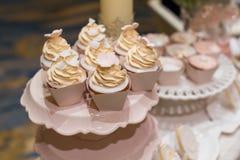 пирожня wedding Стоковые Изображения