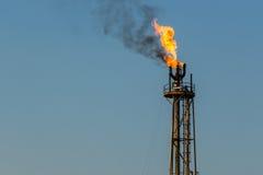 Пирофакел газа Стоковая Фотография
