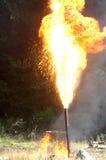 Пирофакел газа Стоковое Изображение RF