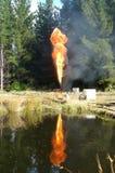 Пирофакел газа Стоковые Изображения RF