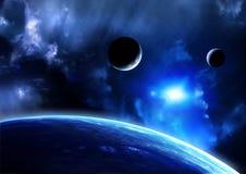 Пирофакел космоса Стоковое фото RF