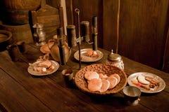 пиршество средневековое Стоковая Фотография