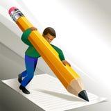 Писание вашей истории успеха бесплатная иллюстрация