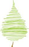 Писанные наспех лист от дерева Стоковые Фотографии RF