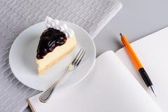 Писать дальше ослабляет время Стоковое Изображение