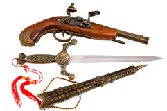 пистолет кинжала Стоковое Фото