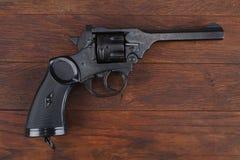 Пистолет обслуживания револьвера Верхн-перерыва Webley Mk IV для вооруженных сил страны Великобритании, и Британская империя и го стоковая фотография