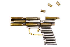 пистолет пушки пожара Стоковая Фотография