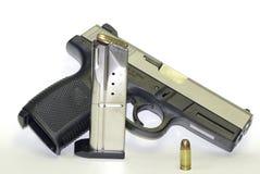 пистолет 9mm Стоковое Фото