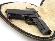 пистолет 9mm стоковое изображение