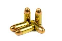 Пистолет и пуля Стоковое Изображение