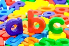 письма алфавита Стоковое Изображение RF
