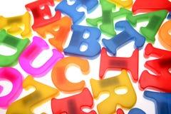 письма алфавита стоковые изображения rf