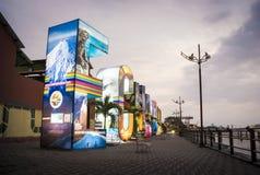 Письма всех вам кампания эквадора Стоковое Фото
