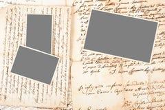 Письма и изображения Стоковые Фотографии RF
