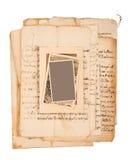 Письма и изображения Стоковые Фото