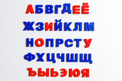 Письма, кириллический алфавит Стоковые Фотографии RF