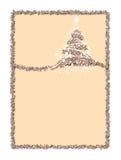 письма рождества Стоковое Изображение