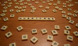 Письма урагана Стоковое фото RF