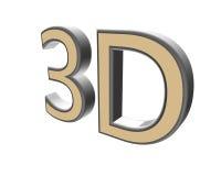 письма цвета 3D перевода 3d на белой предпосылке иллюстрация 3d Стоковое фото RF