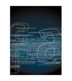 письма 1 предпосылки Стоковое Изображение RF