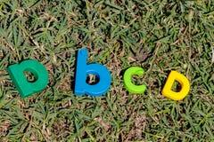 Письма A B c d стоковое изображение