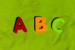 Письма A B c d стоковые изображения