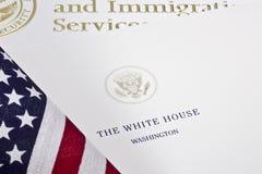 Письмо Белого Дома Стоковое Изображение RF