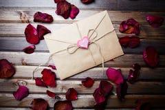 Письмо влюбленности Стоковое Изображение