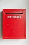 письмо коробки Стоковые Изображения RF