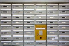 письмо коробок Стоковое Фото