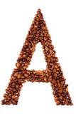 письмо кофе стоковые изображения rf