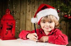 Письмо к Санта Стоковые Изображения