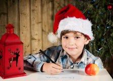 Письмо к Санта Стоковое фото RF