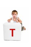 письмо малыша блока немногая Стоковое Изображение RF