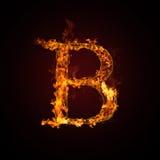письмо пожара Стоковые Изображения