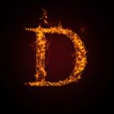 письмо пожара Стоковое Изображение RF