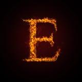 письмо пожара Стоковые Изображения RF
