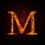 письмо пожара Стоковая Фотография RF