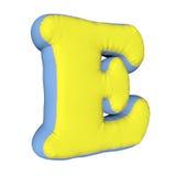 Письмо подушки алфавита Стоковое Изображение